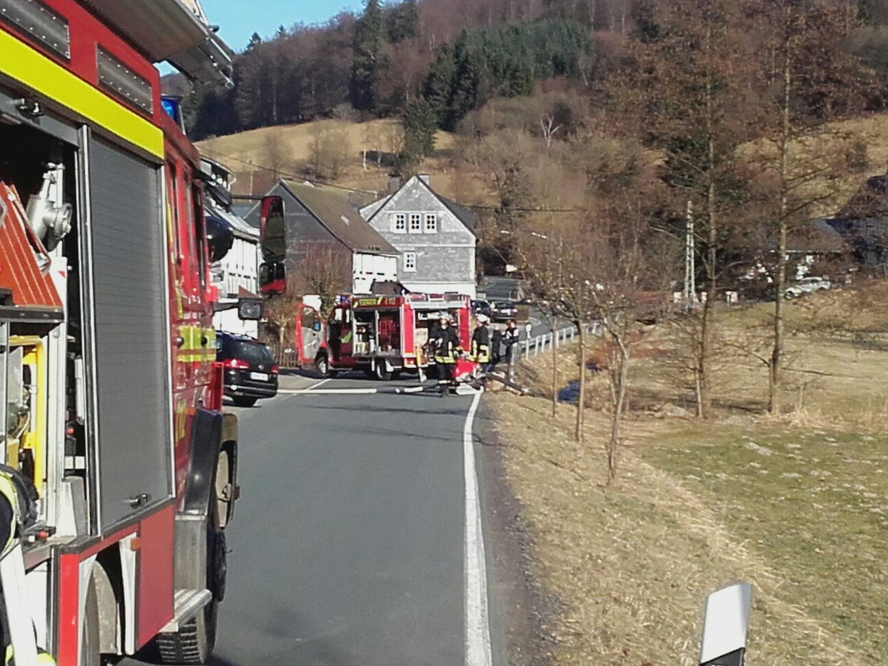 Erster Flächenbrand des Jahres