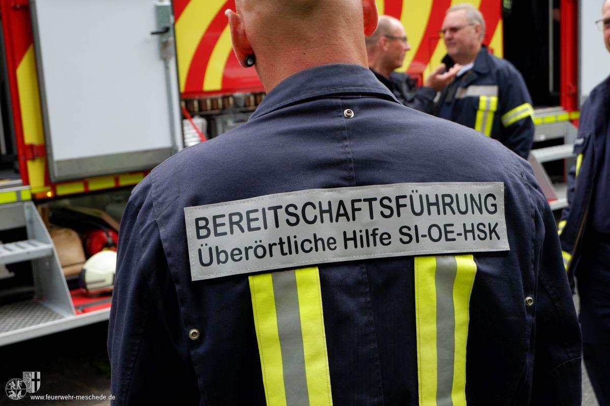 """""""Hessensturm"""" – Übung der 1. Bereitschaft der überörtlichen Hilfe am 29.07.17 in Dillenburg"""