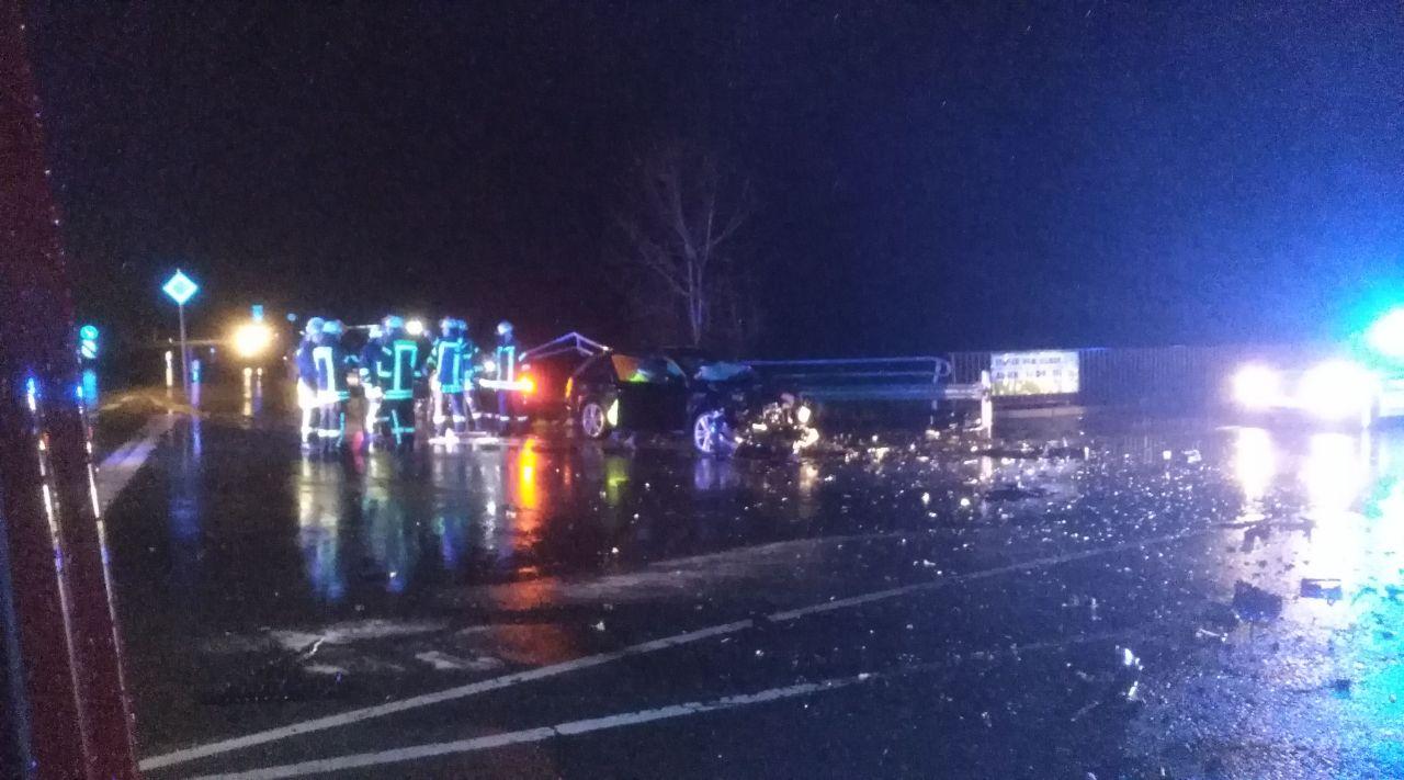 Verkehrsunfall Kreuzung K 36  B 511 in Bad Fredeburg