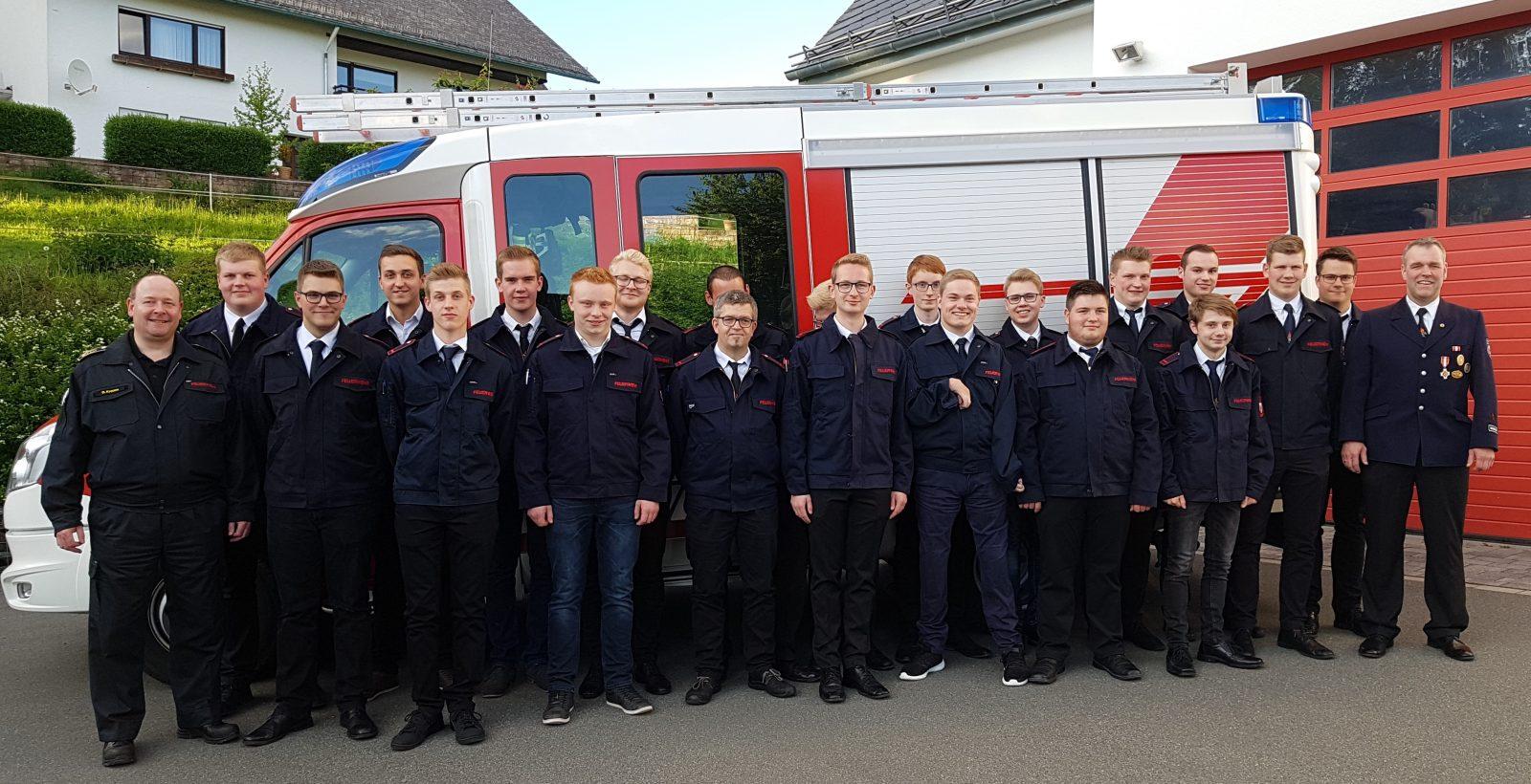 Sprechfunkerlehrgang I/2019 der Freiwilligen Feuerwehr Stadt Schmallenberg in Grafschaft