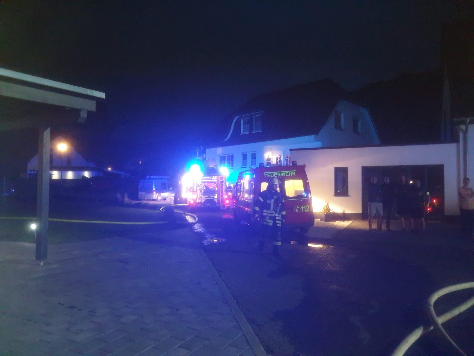 Wohnhausbrand in Bödefeld