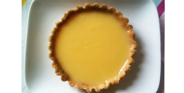 Tartelette au citron, recette de dessert - Feuille de choux