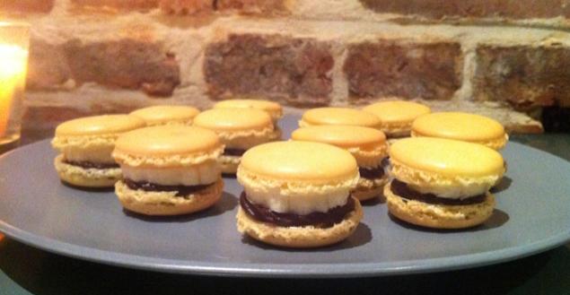 macaron-chocolat-banane-Feuille-de-choux