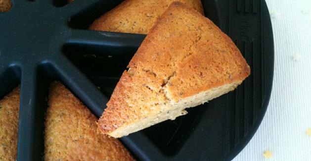 Préparation du cake citron pavot - Feuille de choux