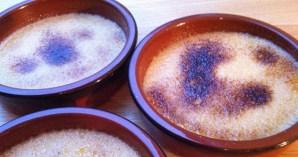Recette de la crème brûlée - Feuille de choux