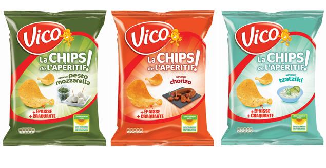 Les chips Vico pour l'apéro! Feuille de choux