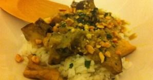 Recette de poulet au curry – Feuille de choux
