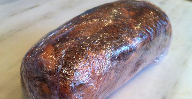 Fois gras maison - Feuille de choux