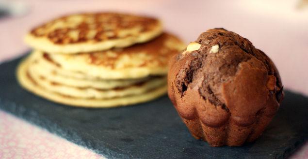 Les muffins double chocolat super gourmands! Feuille de choux