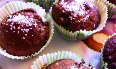 muffin chocolat banane-Feuille de choux
