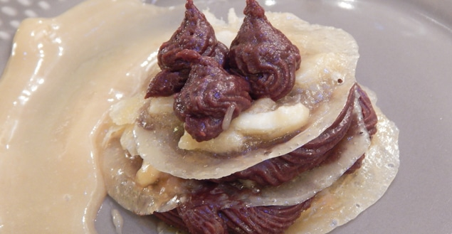 Dessert Saint Valentin cook angels-Feuille de choux