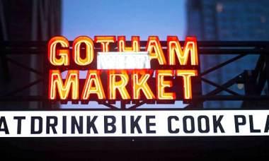 Gotham west market New York Feuille de choux