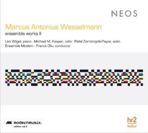 Marcus Antonius Wesselmann_Cover