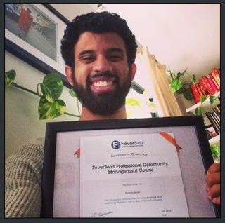 RolandoBrown Certificate pic