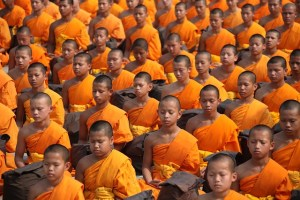 A group of monks