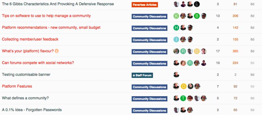 Picture 12 - Big emphasis on community platforms