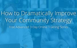 The Advanced Community Sessions [free online workshops]