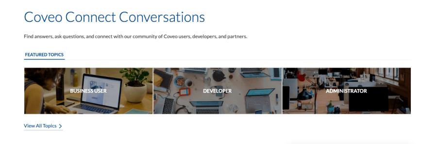conveo connect community