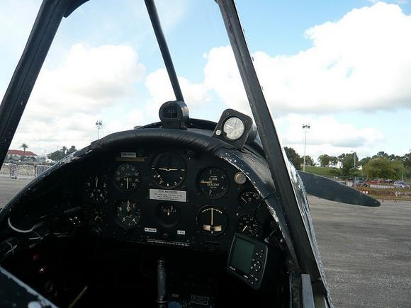 Chipmunk Cockpit by rreis - Flickr