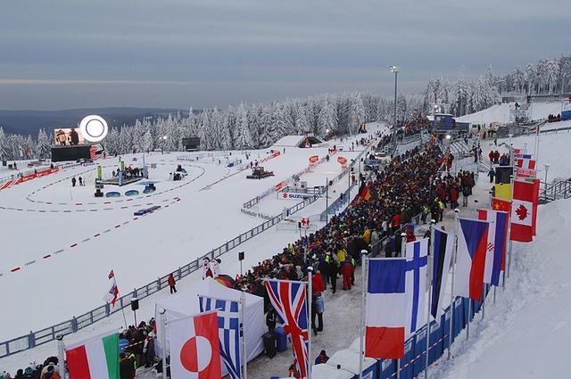 Weltcup-Luft schnuppern - Biathlon DKB Arena (Tourismus GmbH Oberhof)