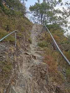 Wanderung des Calmont Klettersteiges