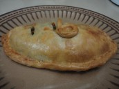 The pasty with initials!