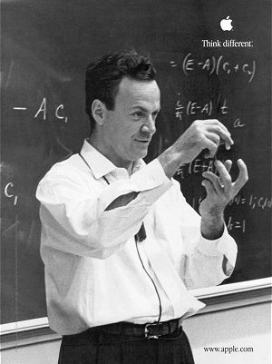 Feynman's second Apple ad