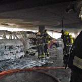 20200304 Fahrzeugbrand Parkdeck Baden Ortsteil Weikersdorf