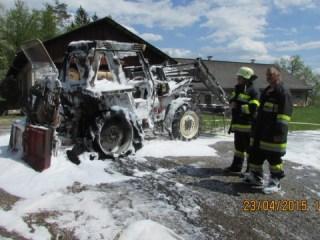 Brandeinsatz Fahrzeugbrand 23.04.2015