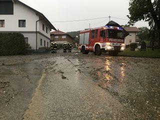 Technischer Einsatz 22. Mai 2017 – Überschwemmung in Ottmanach