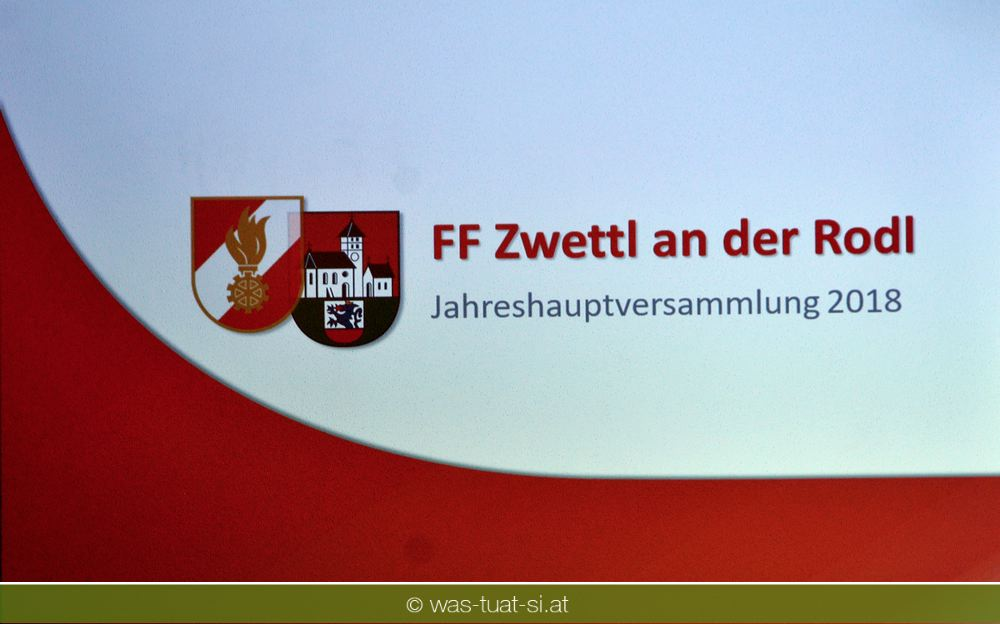 JVV der FF Zwettl