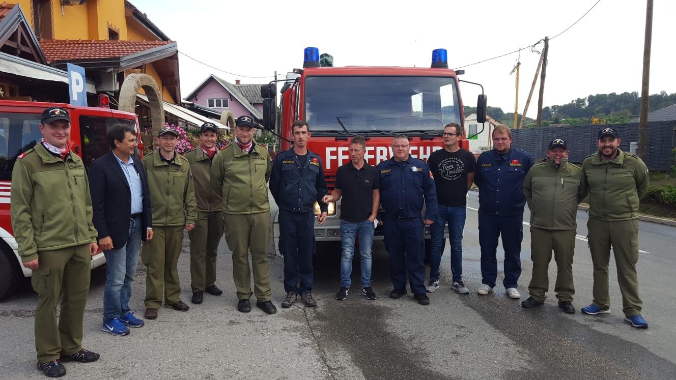 Unser RLF-A ging nach Kroatien