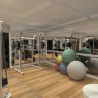 Academia Casa Mansões 2- Projeto FFarquitetura