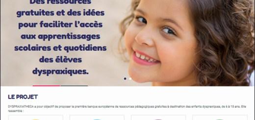 Dyspraxiatheca, banque européenne de ressources pédagogiques gratuites