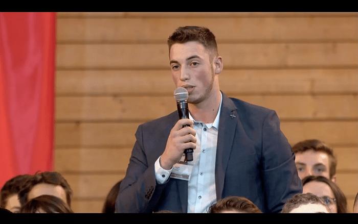 Clément Hélias, le jeune dyslexique qui parle au Président de la République