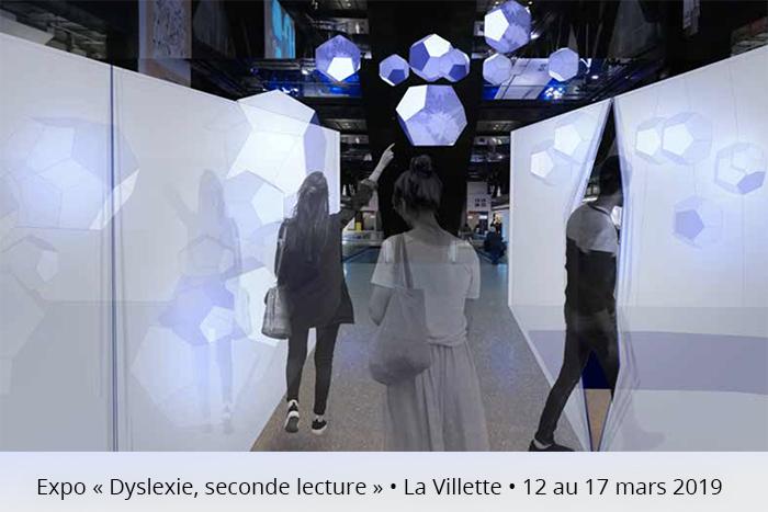 """""""Dyslexie, seconde lecture"""", expo créée par deux jeunes dyslexiques à La Villette."""