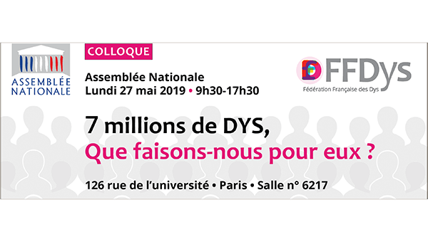 Colloque FFDys Assemblee Nationale Home
