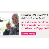 Le dur combat d'un Soissonnais contre les troubles de l'apprentissage - L'Union