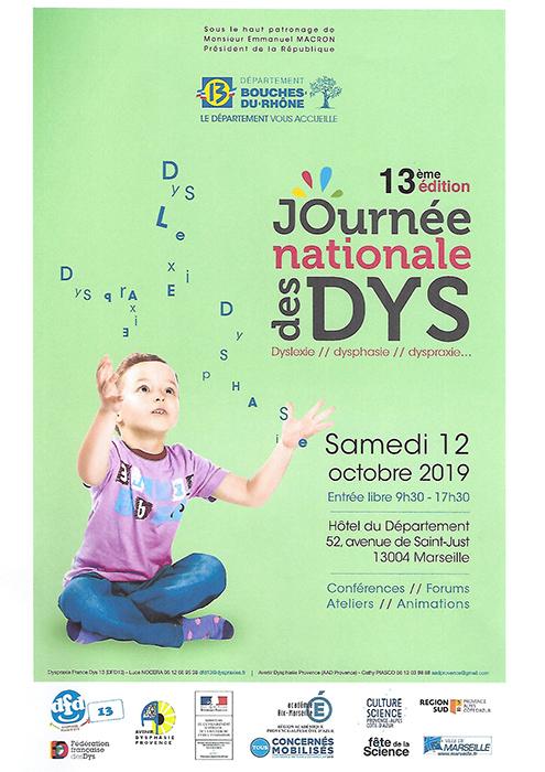 """Résultat de recherche d'images pour """"journée nationale des dys 2019 cd 13"""""""