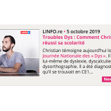 Troubles Dys : Comment Christian a réussi sa scolarité - LINFO.re