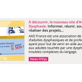 À découvrir, le nouveau site d'Avenir Dysphasie