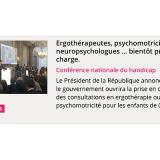 Ergothérapeutes, psychomotriciens, neuropsychologues … bientôt pris en charge