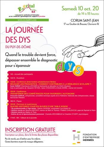 14e Journée des DYS - Clermont-Ferrand (63)