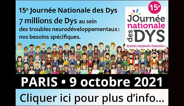 Suivez la 14e Journée nationale des Dys en replay sur FFDys.com!