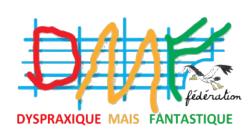 Logo DMF Dyspraxique Mais Fantastique