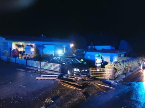Verkehrsunfall auf der L138 in Parschlug
