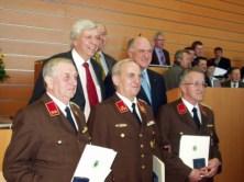 Ehrung für Franz Krifter als Ehrenkommandant