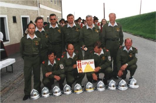 Feuerwehrolympiade Gold Wettkampfgruppe