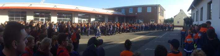 Jugendfeuerwehr erzielt 20. Platz beim Kreissternmarsch