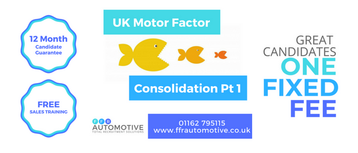 UK Motor Factor Consolidation